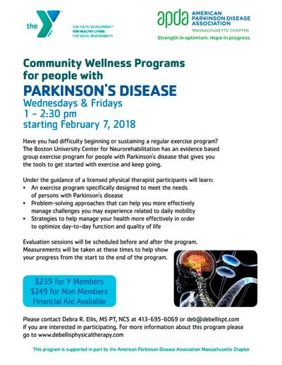 community wellness program flyers deb ellis physical therapy