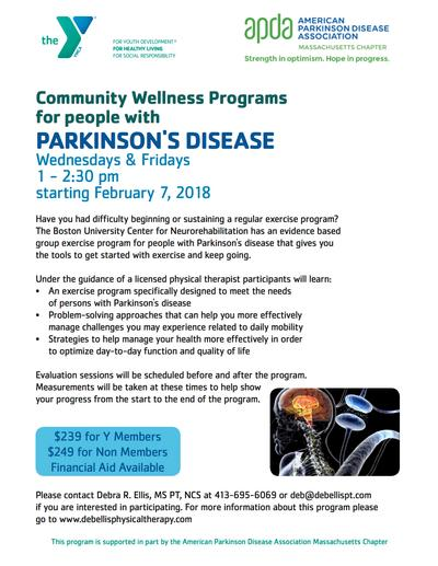 GREENFIELD Parkinsons Programming - Deb Ellis Physical Therapy